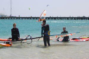 vindsērfinga apmācība